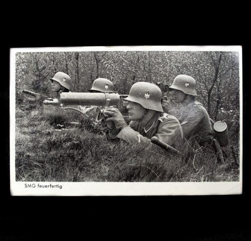Postcard: SMG Feuerfertig!