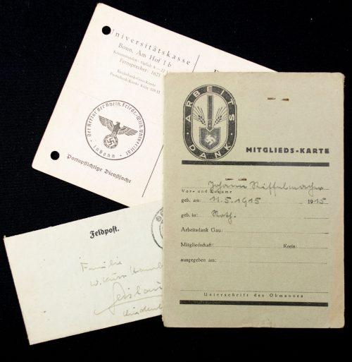 (RAD) - Arbeitsdank Mitgliedskarte + passphoto
