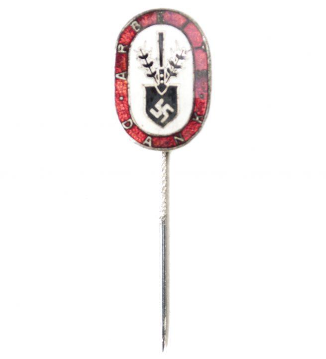 (RAD) Reichsarbeitsdienst - Arbeitsdank badge stickpin