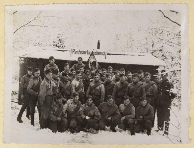 Reichsarbeitsdienst (RAD) - Arbeitsdienst Ehrendienst Photoalbum - Arbeitsgau XVIII Niedersachsen-Ost