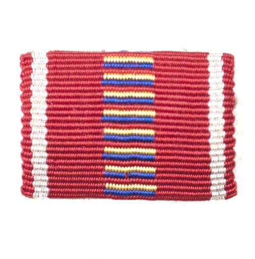 Romanian Medal Kreuzzug gegen den Kommunismus medal single ribbon