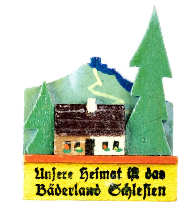 Unsere Heimat ist das Bäderland Schlesien abzeichen