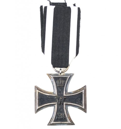 "WWI Eisernes Kreuz Zweite Klasse / Iron Cross second class (Ek2) – maker ""WILM"""