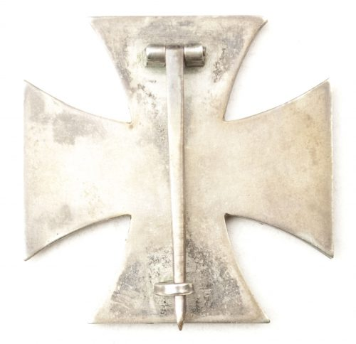 WWII Eisernes Kreuz (EK1) / Iron Cross first class (maker Deumer)