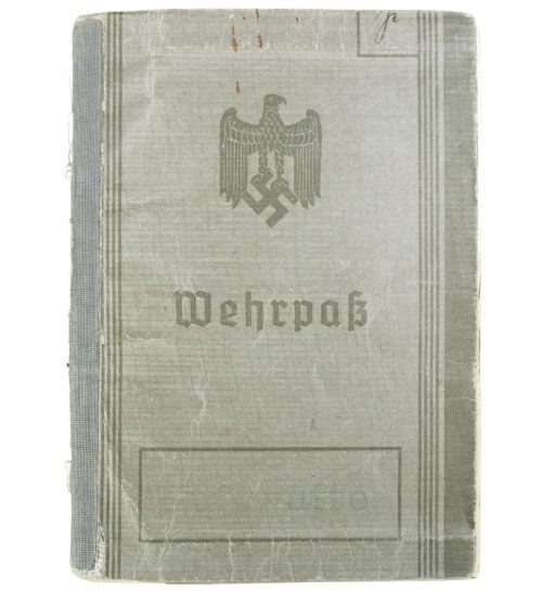 "Wehrpass Luftwaffe (1st type) ""Flieger-Hauptingenieur"". Operations in Belgium, France and the Battle against England"