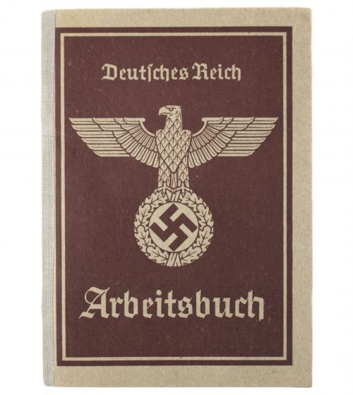 Arbeitsbuch second type for a Woman
