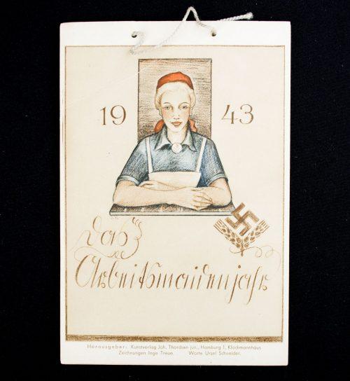 Calendar: Weibliche Reichsarbeitsdienst (RADw) - Das Arbeitsmaidenjahr 1943