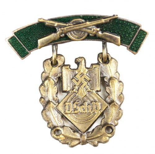 Deutscher SchützenVerband (DSchV) Auszeichnung für Schiessleistung in bronze (small!)