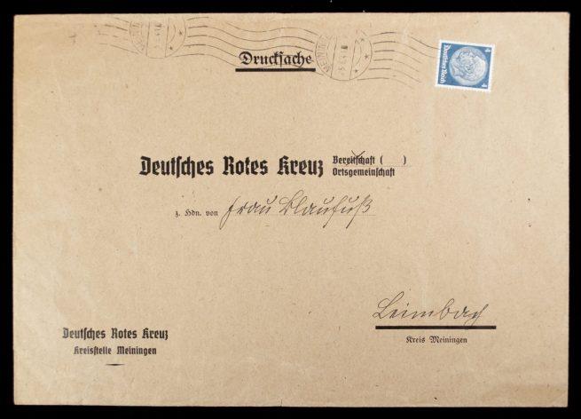 Deutsches Rotes Kreuz (DRK) - Large enveloppe Kreisstelle Meiningen