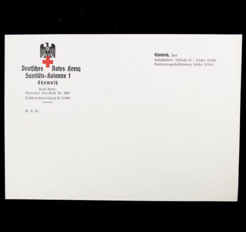 Deutsches Rotes Kreuz Sanitäts-Kolonne 1 Chemnitz letter paper