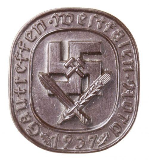 Gautreffen Westfalen Nord 1937 (brown)