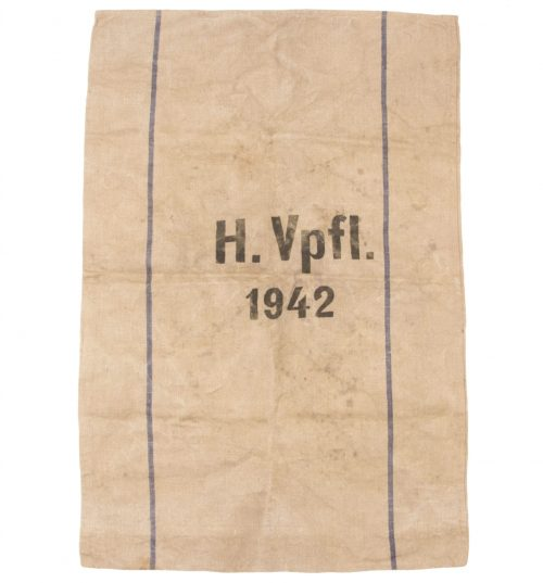 (H.VpFl. 1942) Heeresverpflegungssack 1942 in good condition -
