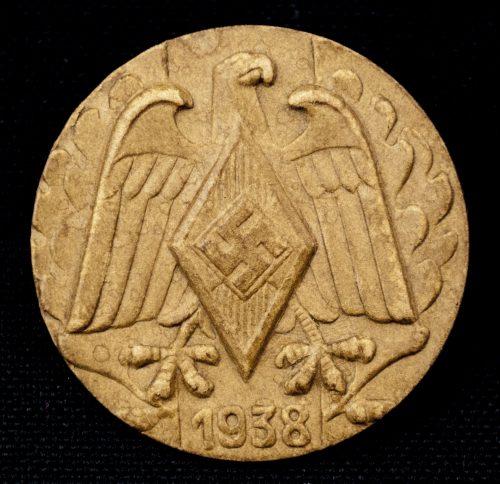 HJ Hitlerjugend 1938 badge