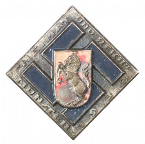 Heimat und Reich Münster 1933 abzeichen