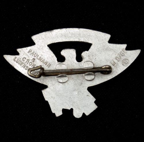 Hitlerjugend (HJ) Gebietsaufmarsch Gebiet Westfalen 9. badge
