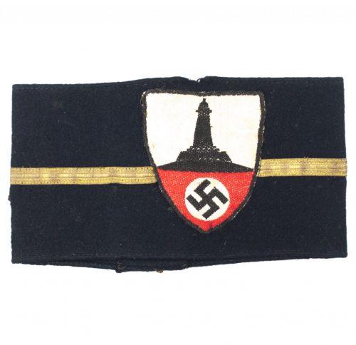 Kyffhäuserbund armband for a Kriegerkameradschaftsführer