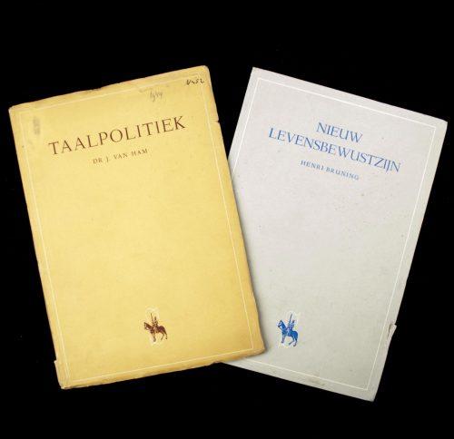 (NSB) 2 booklets: Taalpolitiek & Nieuw Levensbewustzijn (1943/1944)