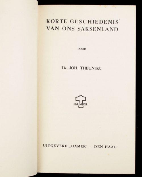 (NSB) Korte geschiedenis van ons Saksenland (1941)