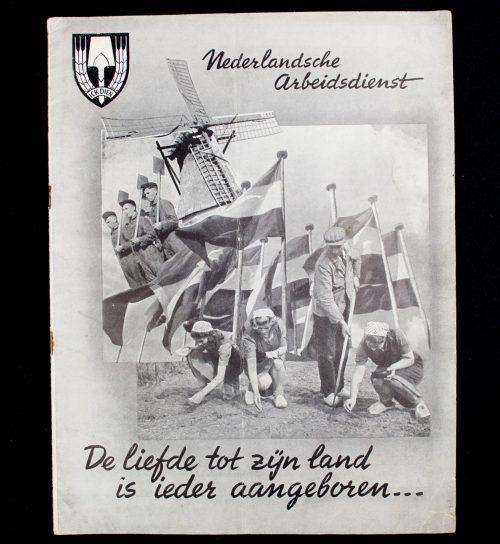 Nederlandsche Arbeidsdienst: De liefde tot zijn land is ieder aangeboren...