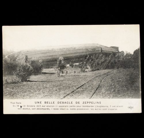 Postcard: Zeppelin Lz49 crash