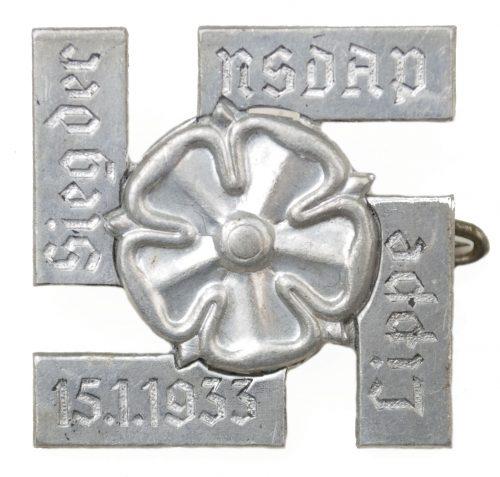 Sieg der NSDAP Lippe 15.1.1933 abzeichen