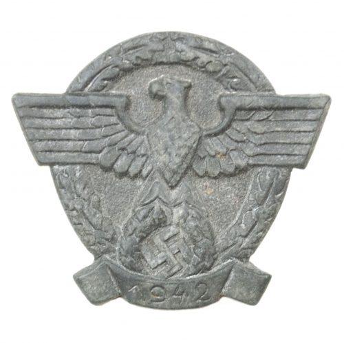 Tag der Polizei 1942 badge