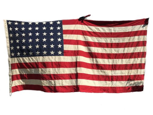 USA World War II 48 Star American Flag (300 x 140 cm)