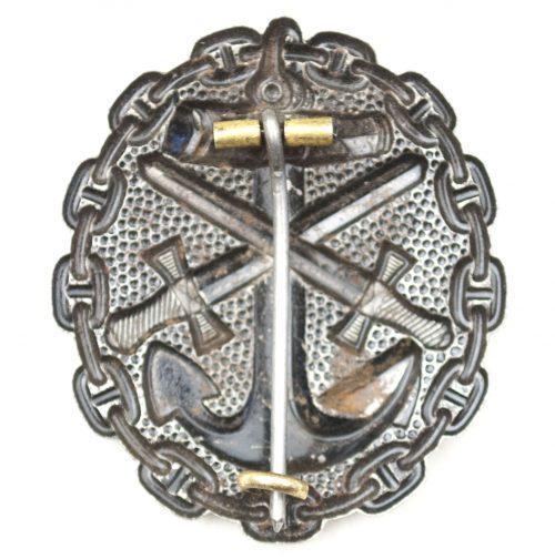 WW1 - Verwundetenabzeichen der Marine in Schwarz / VWA 1918
