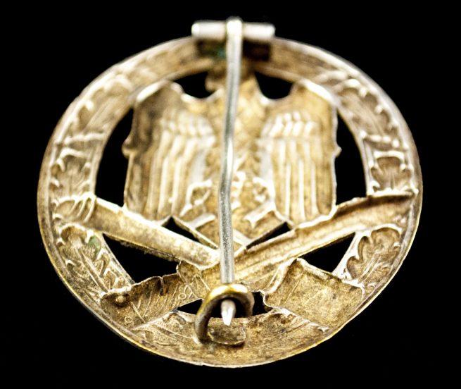 Allgemeines Sturmabzeichen (ASA) / General Assault badge (GAB) Buntmetal (maker Otto Schickle)