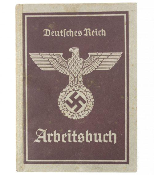 Arbeitsbuch Arbeitsamt Alfeld (1940)