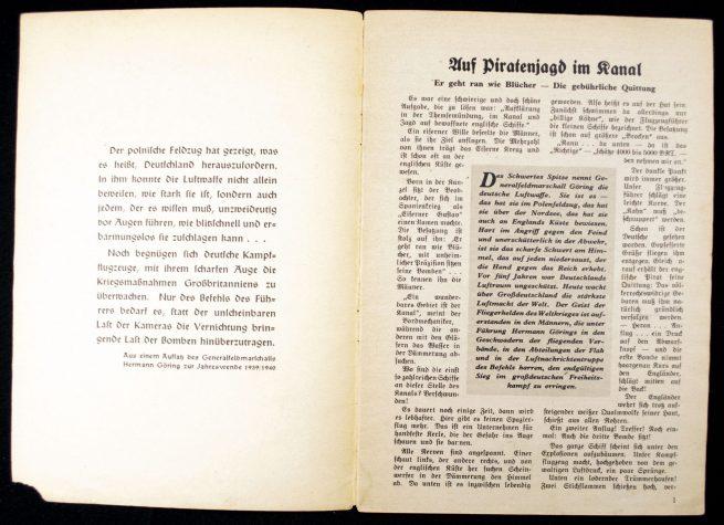 Brochure: Drauf und Dran! Unsere Luftwaffe am Feind