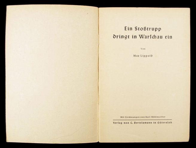 Brochure: Ein Stosstrupp dringt in Warchau ein (1940)
