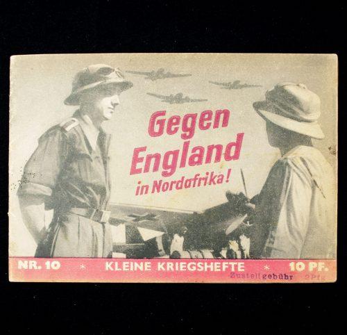 Brochure: Gegen England in Nordafrika!