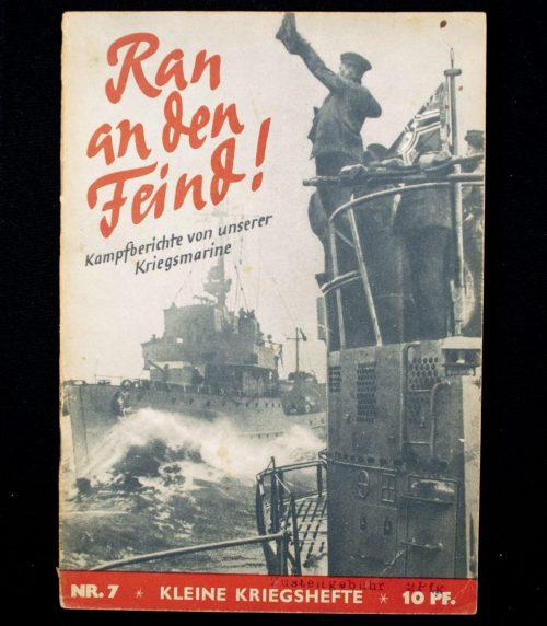 Brochure: Ran an den Feind! Kampfberichte von unsere Kriegsmarine