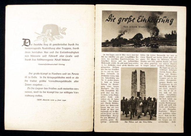 Brochure: Stürm vor Englands Toren!