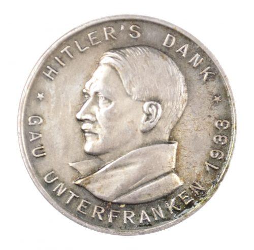 Gau Unterfranken Hitler's Dank 1933 (maker Paulmann & Crone)