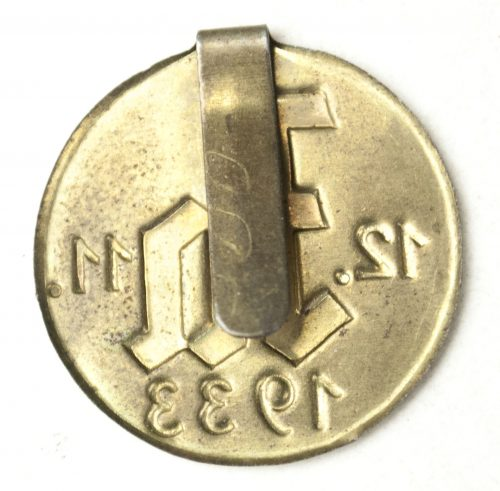 "German pro-Hitler ""JA"" propaganda 1933 Elections badges"