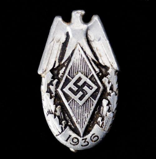 HJ Hitlerjugend Siegernadel Reichssportwettkämpfe 1936