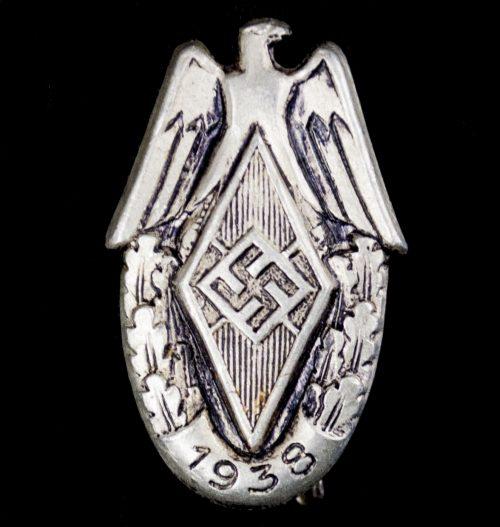 HJ Hitlerjugend Siegernadel Reichssportwettkämpfe 1938