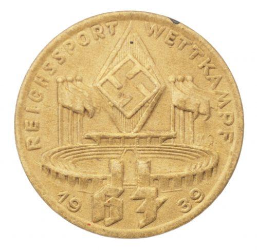 Hitlerjugend (HJ) Reichssportwettkampf 1939 abzeichen