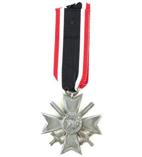 """Kriegsverdienstkreuz mit Schwerter / War Merit Cross with swords """"127"""" (Moritz Hausch AG)"""