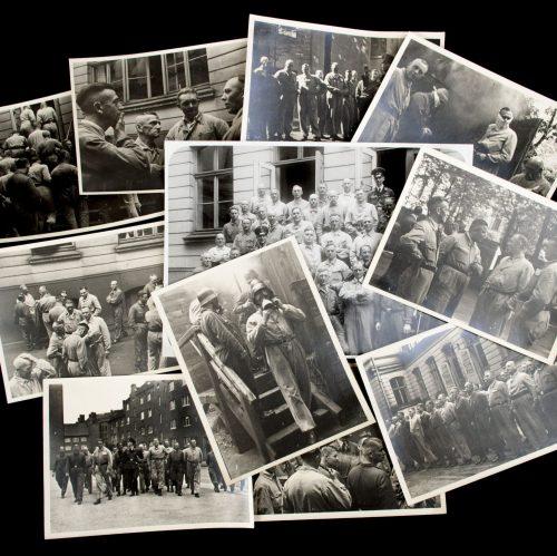 Luftschutz photogroup of 11 photo's