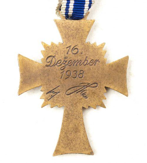 Mutterkreuz / Motherscross in bronzev
