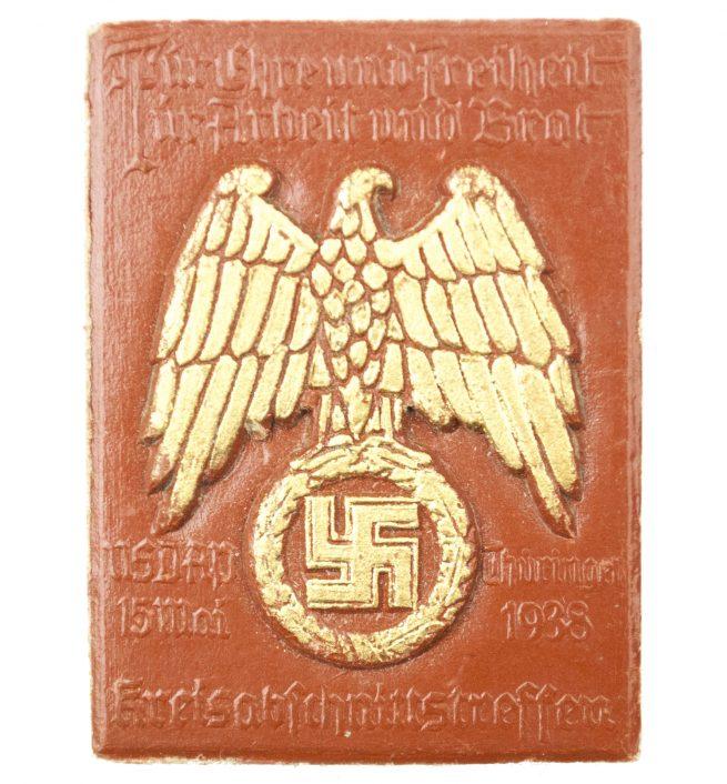 NSDAP Kreisabschnittstreffen Thüringen 5. Mai 1938 abzeichen