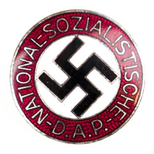 NSDAP Parteiabzeichen M1/101 (Gustav Brehmer)
