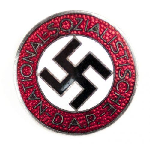 NSDAP Parteiabzeichen M1/34 (Karl Wurster)
