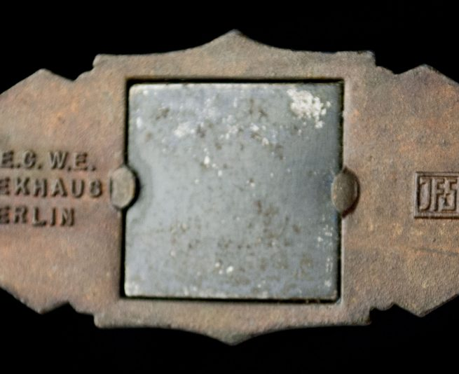Nahkampfspange in bronze / Close Combat Clasp - by maker JFS