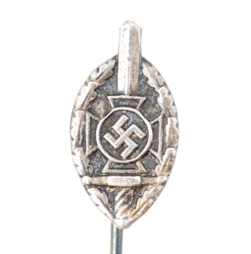National Sozialistische Kriegsopferversorgung (NSKOV) memberbadge stickpin miniature (RZM M4/32)