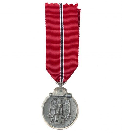 """Ostmedal / Ostmedaille / Winterschlacht im Osten medal """"6"""" (Fritz Zimmerman)"""