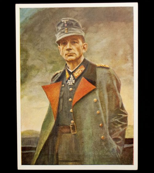 Postcard: General Dietl